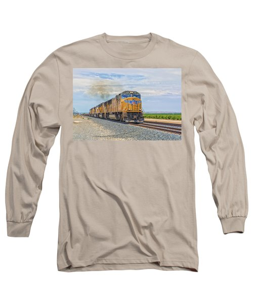 Up4421 Long Sleeve T-Shirt by Jim Thompson