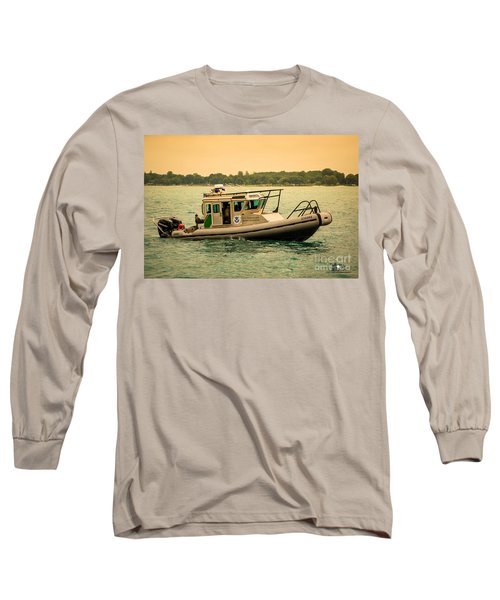 U.s. Customs Border Patrol Long Sleeve T-Shirt