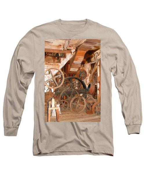Used Parts As Art  Long Sleeve T-Shirt by Brooks Garten Hauschild