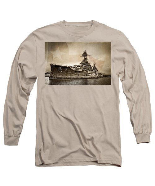 U.s.s. Texas Long Sleeve T-Shirt