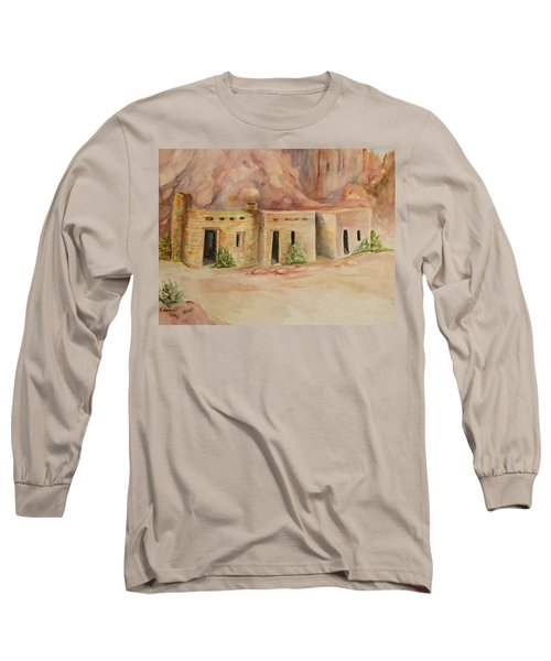Valley Of Fire Cabins Long Sleeve T-Shirt