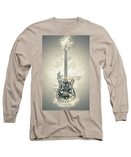 Van Halen's Frankenstrat Long Sleeve T-Shirt