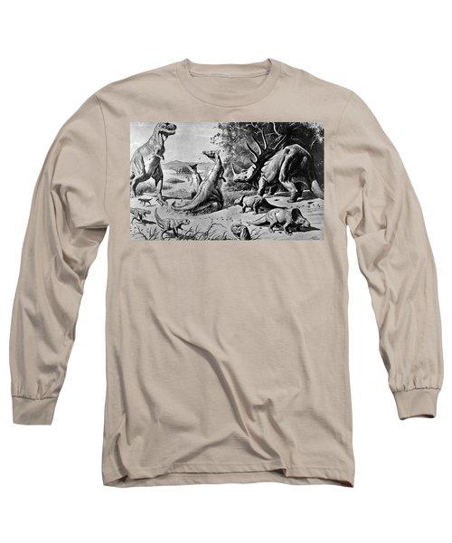 Various Dinosaurs & Reptiles Long Sleeve T-Shirt