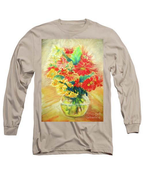 Vase Long Sleeve T-Shirt by Jasna Dragun
