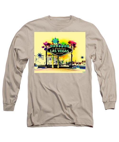 Vegas Weekends Long Sleeve T-Shirt by Az Jackson