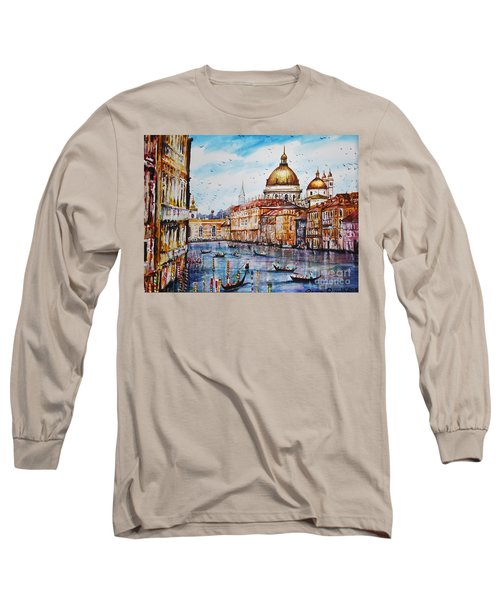 Venetian Paradise Long Sleeve T-Shirt