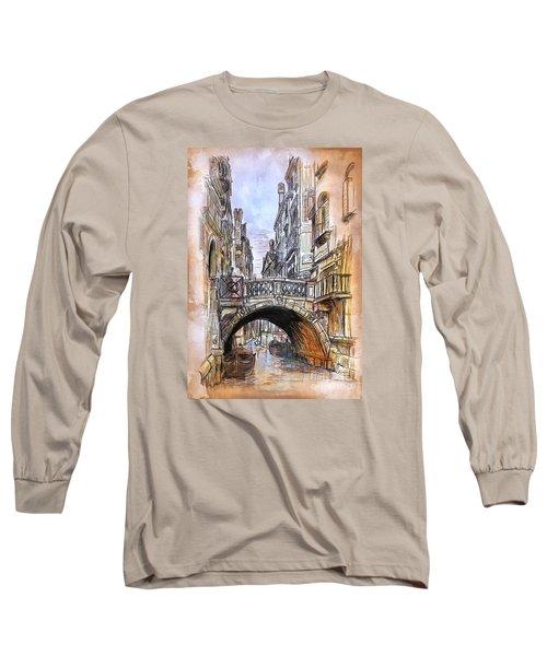Venice 2 Long Sleeve T-Shirt by Andrzej Szczerski
