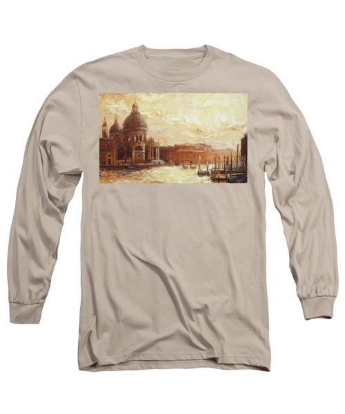 Venice - Santa Maria Della Salute Long Sleeve T-Shirt