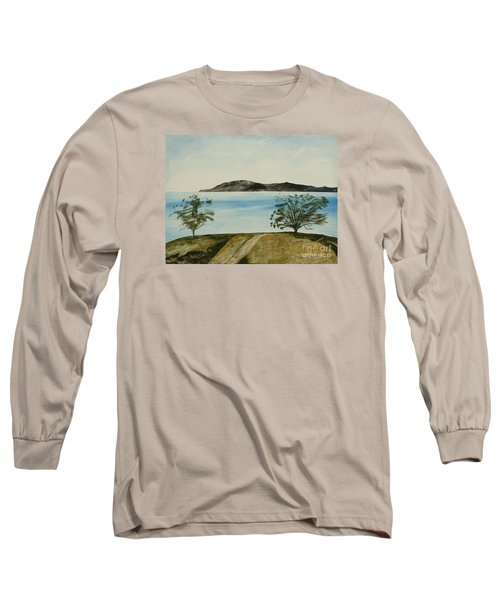 Ventura's Two Trees With Santa Cruz  Long Sleeve T-Shirt
