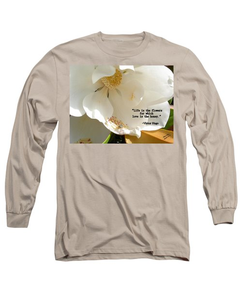 Victor Hugo 2 Long Sleeve T-Shirt