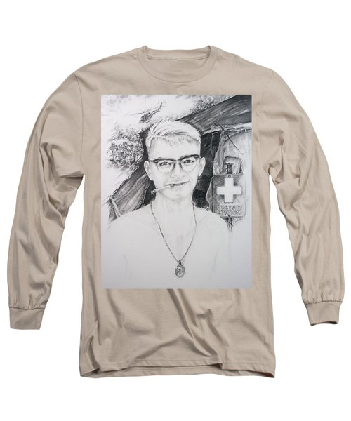 Vietnam Medic Long Sleeve T-Shirt by Scott and Dixie Wiley