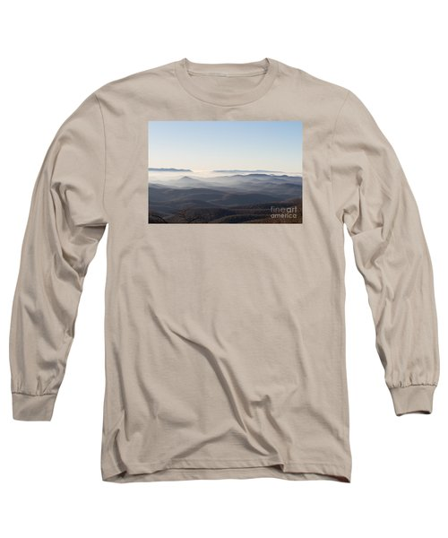 View From Blood Mountain Long Sleeve T-Shirt by Paul Rebmann
