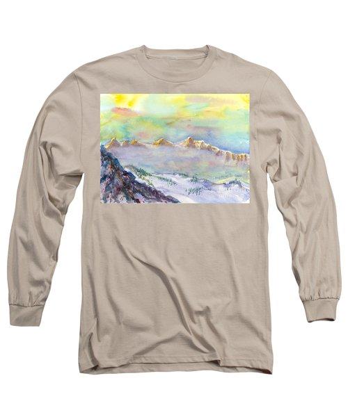 View From Snowbird Long Sleeve T-Shirt