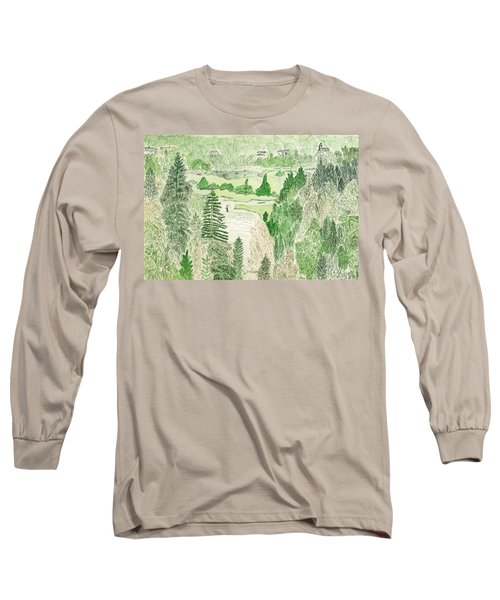 View From The Dam Long Sleeve T-Shirt