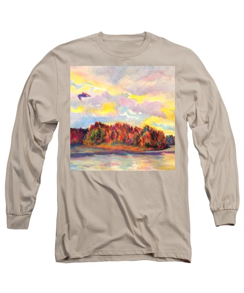 View Of Goat Island Long Sleeve T-Shirt