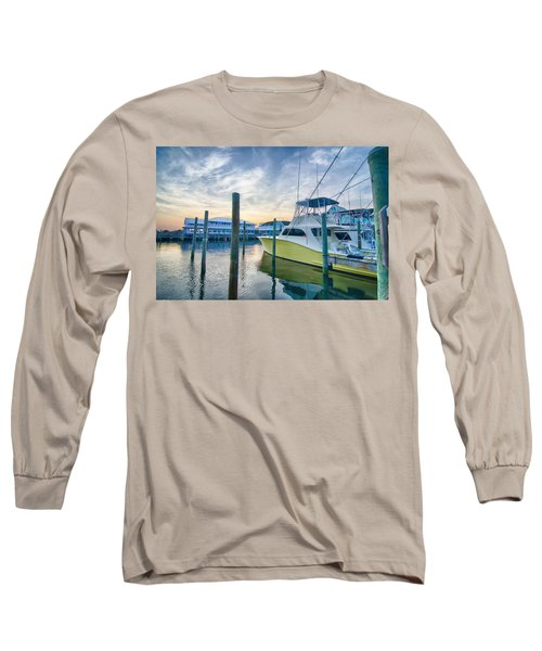 View Of Sportfishing Boats At Marina Long Sleeve T-Shirt