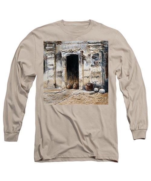 Vigan Door Long Sleeve T-Shirt by Joey Agbayani