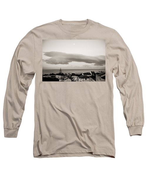 Village Rooftops At Sunrise Long Sleeve T-Shirt