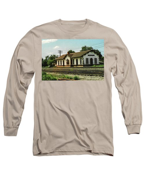 Villisca Train Depot Long Sleeve T-Shirt