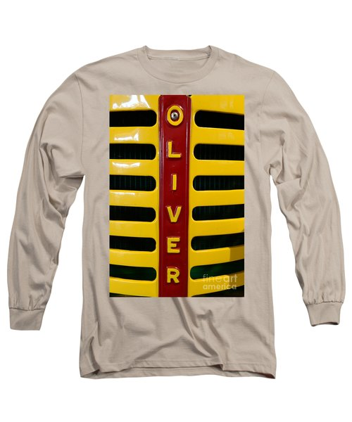 Vintage 1950 Oliver Tractor Long Sleeve T-Shirt