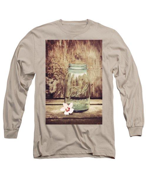 Vintage Ball Mason Jar Long Sleeve T-Shirt