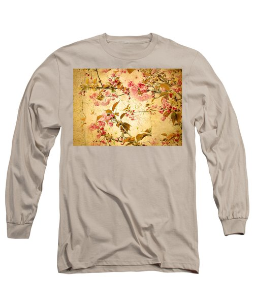 Vintage Blossom Long Sleeve T-Shirt