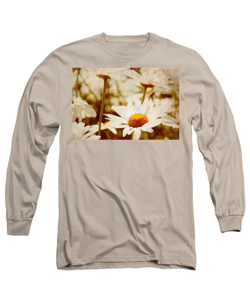 Vintage Daisy Long Sleeve T-Shirt