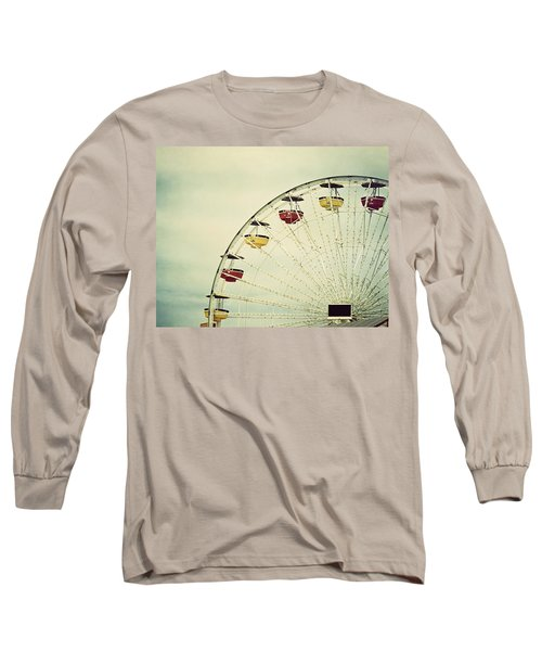 Vintage Ferris Wheel Long Sleeve T-Shirt