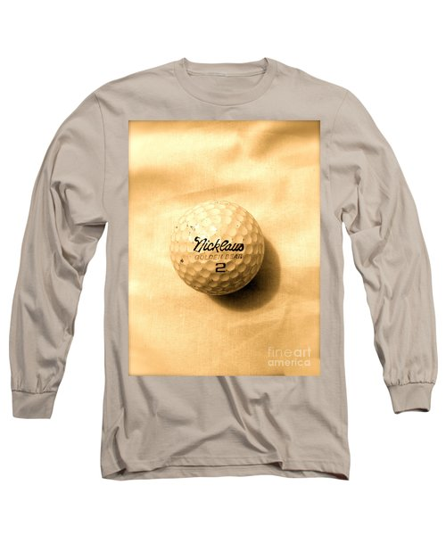 Vintage Golf Ball Long Sleeve T-Shirt