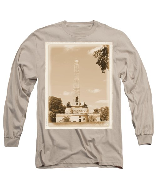 Vintage Lincoln's Tomb Long Sleeve T-Shirt