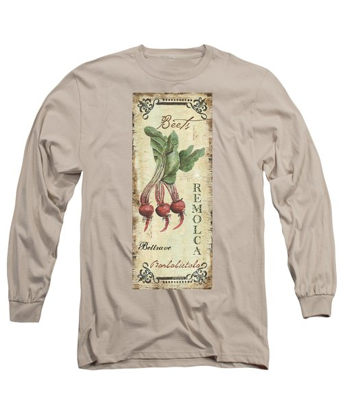 Vintage Vegetables 3 Long Sleeve T-Shirt