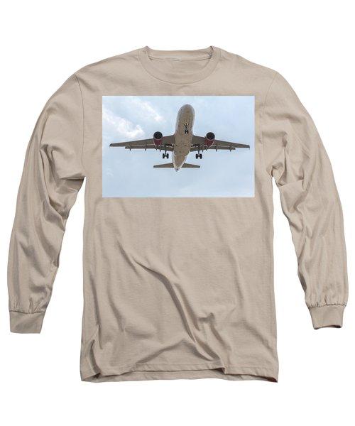 Virgin America Airbus 319 Long Sleeve T-Shirt