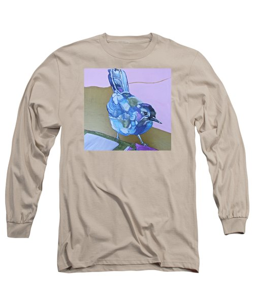 Visiting Wren Long Sleeve T-Shirt by Jamie Downs