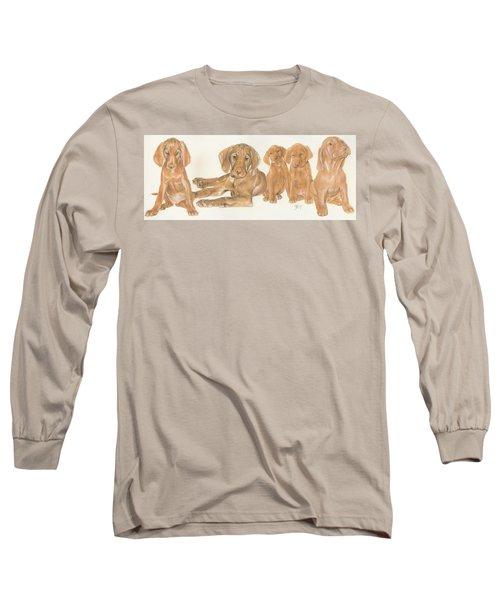 Vizsla Puppies Long Sleeve T-Shirt