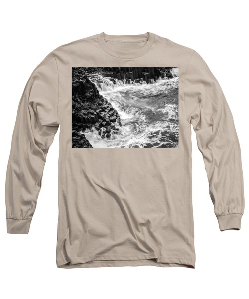 Volcanic Rocks And Water Long Sleeve T-Shirt