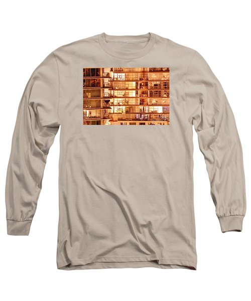 Long Sleeve T-Shirt featuring the photograph Voyeuristic Pleasures Cdxci by Amyn Nasser