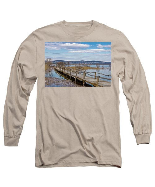 Vransko Lake Nature Park Bird Observatory Long Sleeve T-Shirt