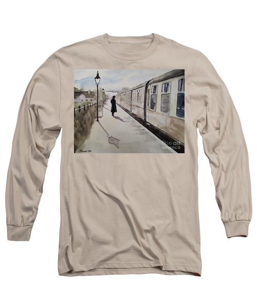 Waiting At Williton Long Sleeve T-Shirt