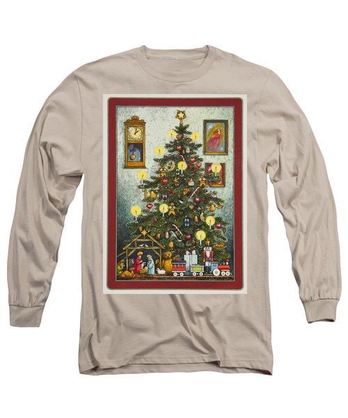 Waiting For Christmas Morning Long Sleeve T-Shirt