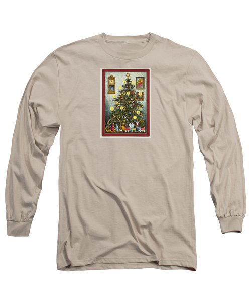 Waiting For Christmas Morning Long Sleeve T-Shirt