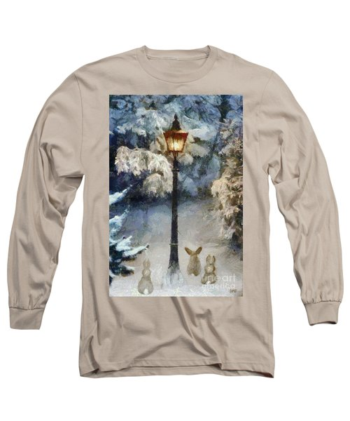 Waiting For Santa 2 Long Sleeve T-Shirt