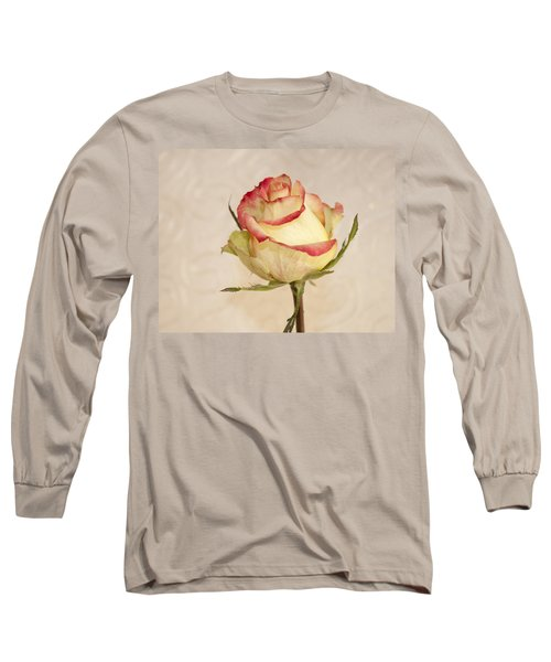 Long Sleeve T-Shirt featuring the photograph Waiting For The Unfurling by Sandra Foster