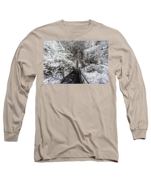 Walking Into The Infrared Jungle 1 Long Sleeve T-Shirt