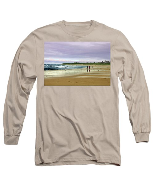 Walking The Dog After A Storm Long Sleeve T-Shirt