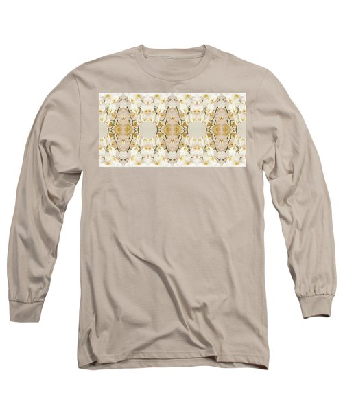 Wall Of Orchids Panorama Long Sleeve T-Shirt by Paul Ashby