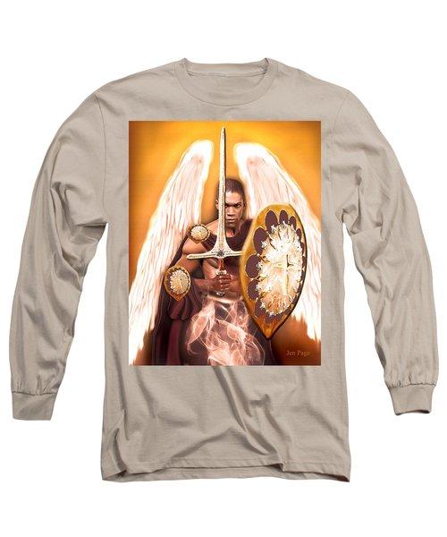 Warrior Angel Long Sleeve T-Shirt