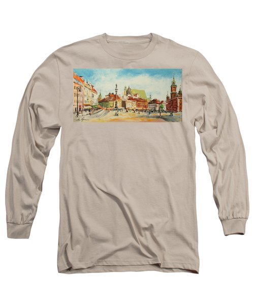 Warsaw- Castle Square Long Sleeve T-Shirt