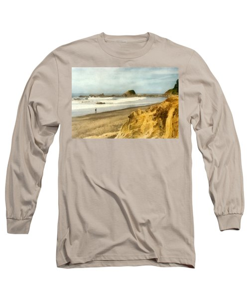 Washington State Seastacks Long Sleeve T-Shirt