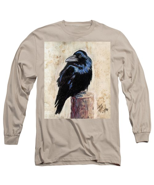 Watching And Waiting Long Sleeve T-Shirt by Billie Colson