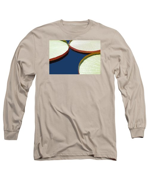 Water Lilly Platters Long Sleeve T-Shirt